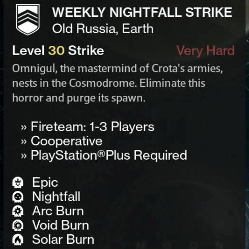 The Weekly Heroic has Solar Burn