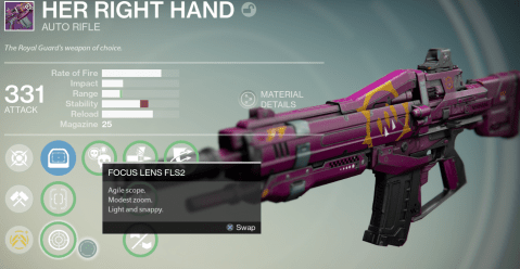 queen's wrath auto rifle