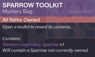 sparrow toolkit