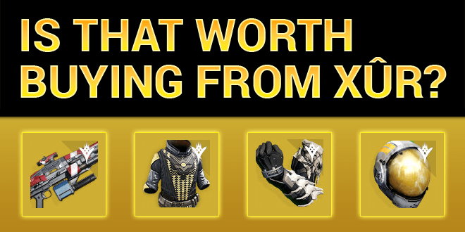 xur worth buying taikonaut