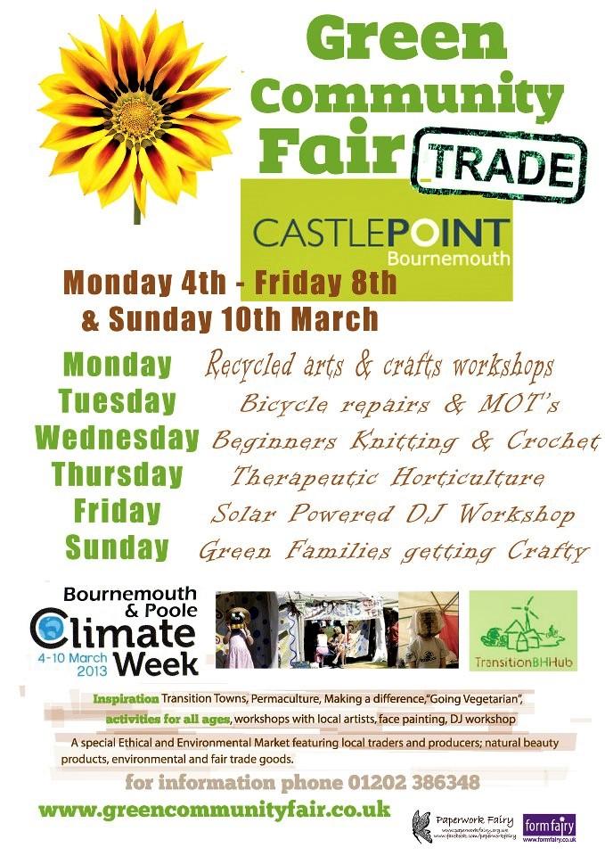Freeplay @ green Community Fair March 2013