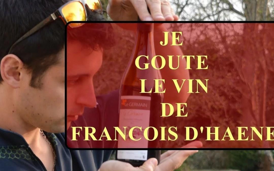JE GOUTE LE VIN DE FRANCOIS D'HAENE