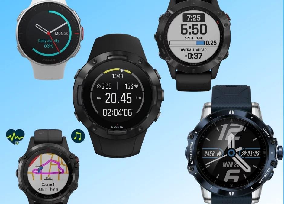 Top 5 des montres de Trail et Ultra-Trail en 2020
