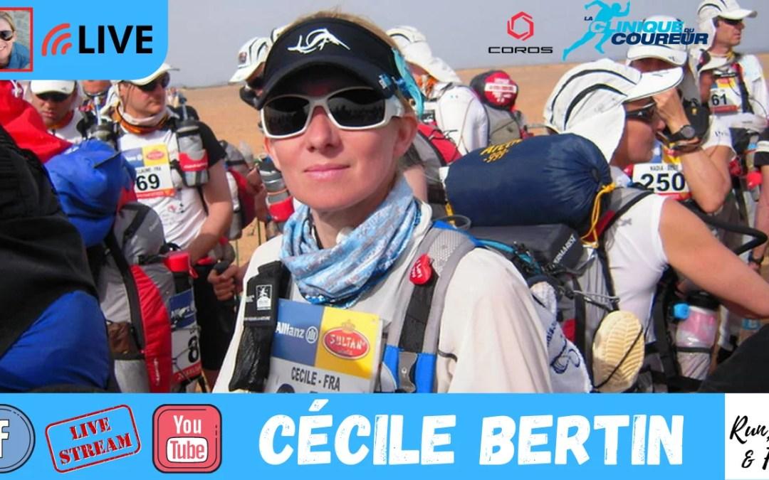 Cécile Bertin – Courir, écrire et recommencer !