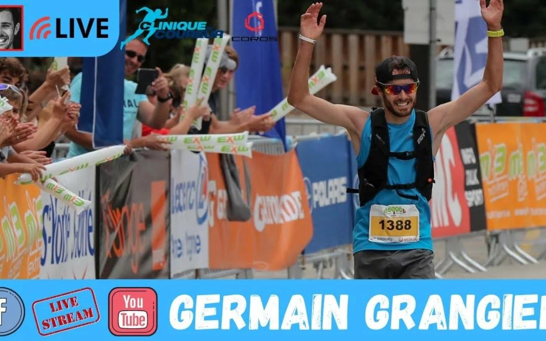 Germain Grangier: Le Trail tout simplement!