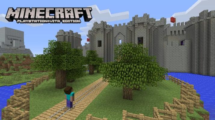 """Résultat de recherche d'images pour """"Minecraft ps vita"""""""