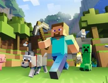Minecraft premier.