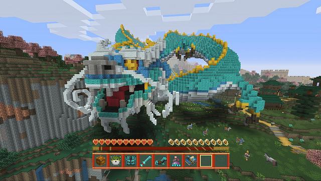 Minecraft Mise A Jour Mythologie Chinoise 1 36 Planete Vita