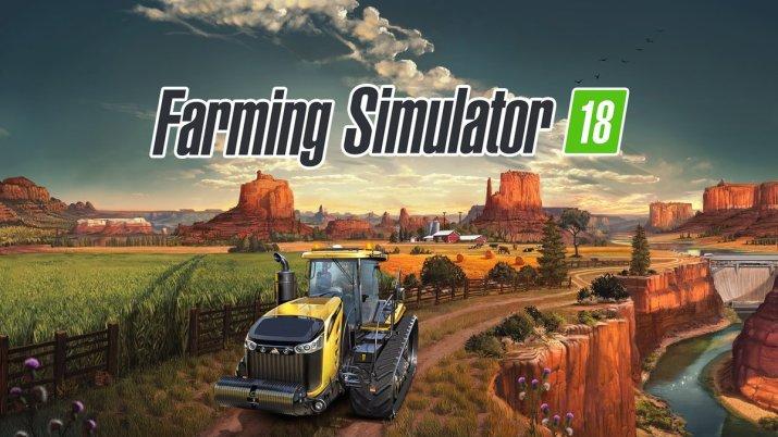 [Test] Farming Simulator 18 : viens voir mon joli tracteur sur PS Vita