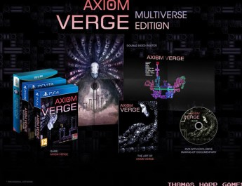 Axiom Verge – une version limitée annoncée sur PS Vita !