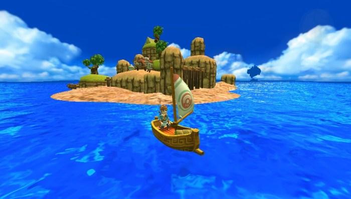 Test & avis Oceanhorn PS Vita