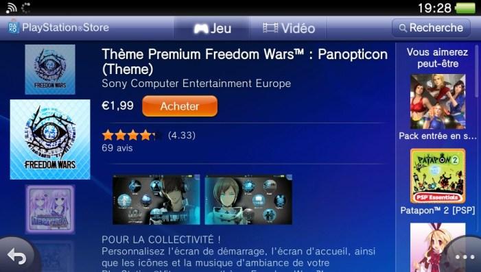 Comment personnaliser sa PS Vita avec des thèmes ?