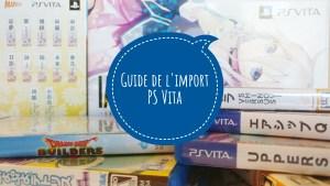 Guide Import PS Vita