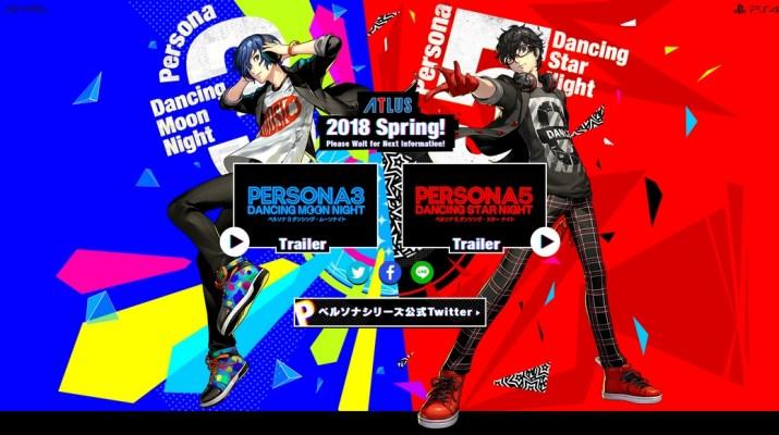 Persona 3 & 5 Dancing PS Vita