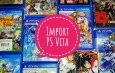 Import PS Vita: classifications et codes, comment faire la différence ?