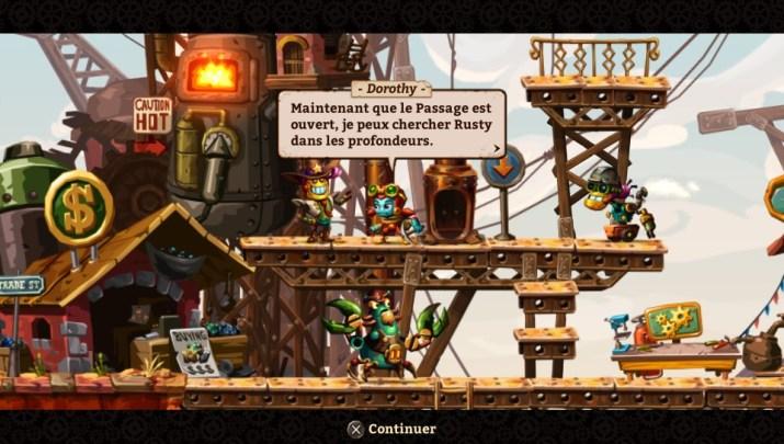 SteamWorld Dig 2 Test PS Vita