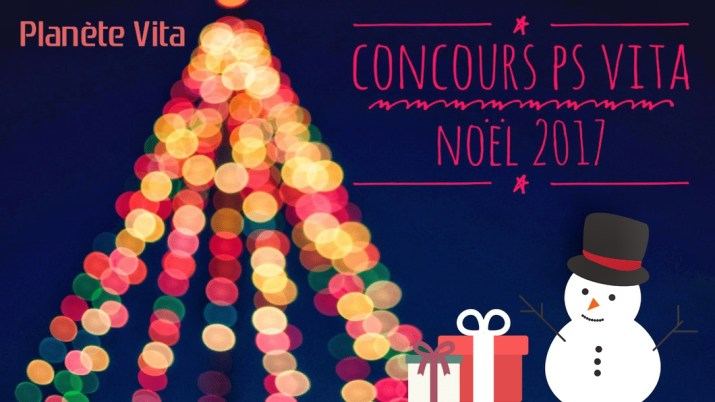 Concours PS Vita Noël 2017