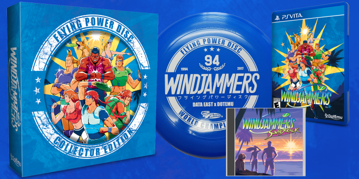 Windjammers PS Vita Limited Run