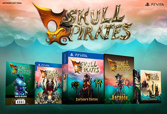 SkullPirates annoncé en édition physique sur PS Vita via Kickstarter