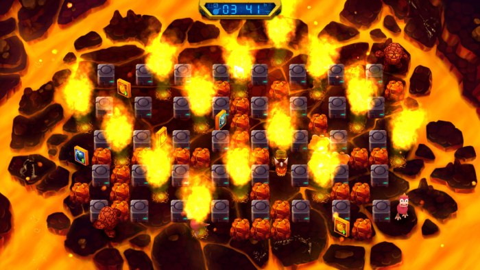 Bombing Busters PS Vita