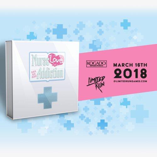 Nurse Love Addiction PS Vita Limited Run