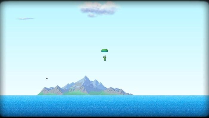 Rogue aces parachute