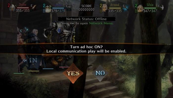 Activation du mode local ad hoc sur PS Vita