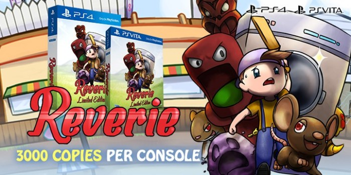 Reverie Edition limitée Play Asia PS Vita PlayStation 4