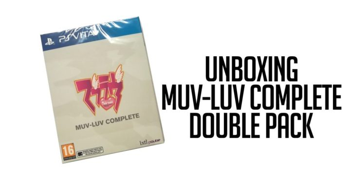 Unboxing Double Pack Muv-Luv Complete