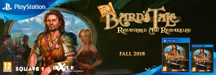 The Bard's Tale: Remastered and Resnarkled - Red Art Games PS Vita