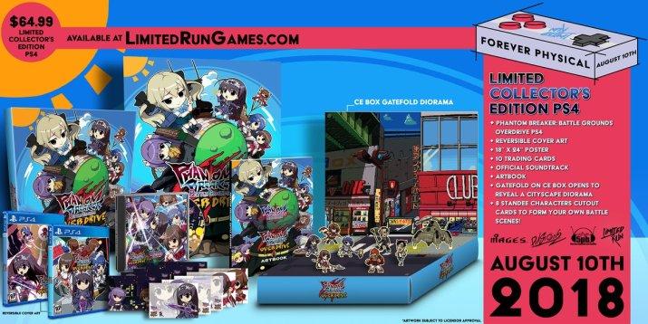 Phantom Breaker Battle Grounds : le Limited Run du jour sur PS Vita et PS4