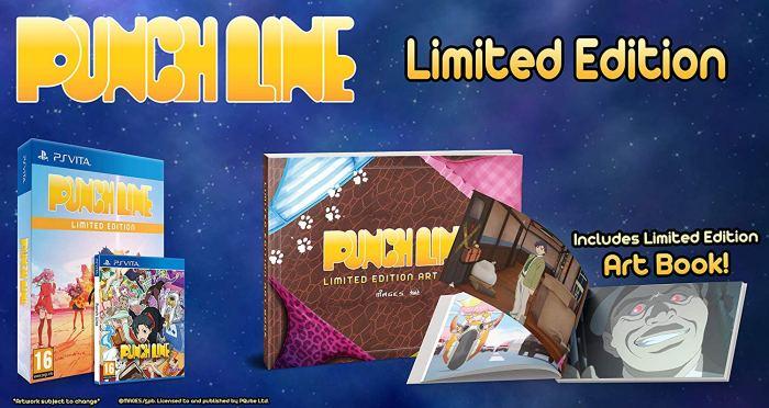 Punch Line Edition limitée PS Vita