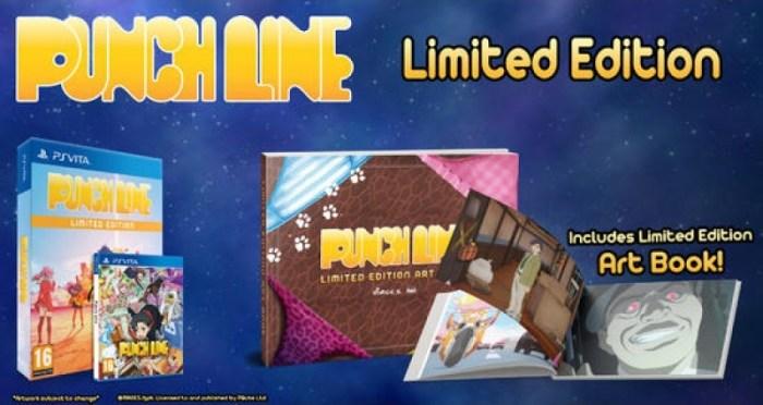 Punch Line édition limitée PS Vita