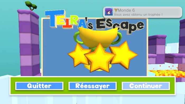 Tetra's Escape PS Vita Test easy Platine