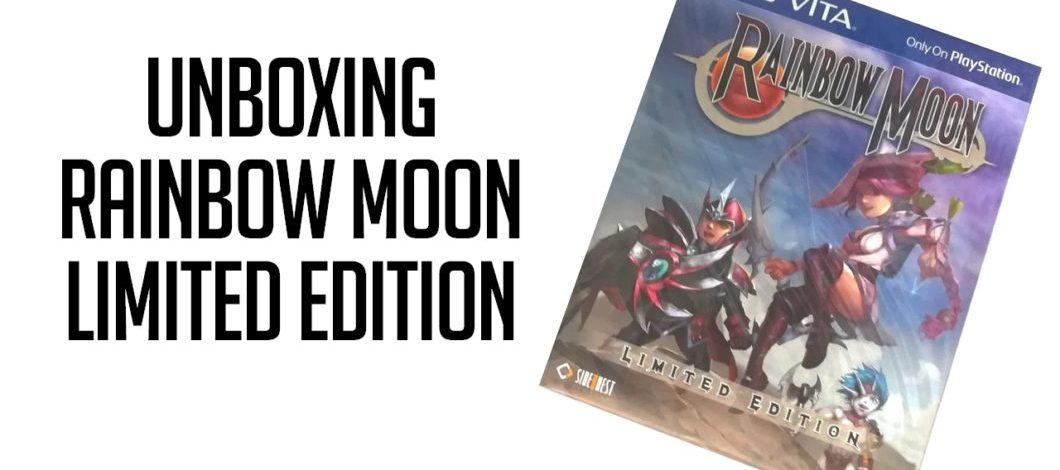 [Unboxing] Rainbow Moon Limited Edition sur PS Vita