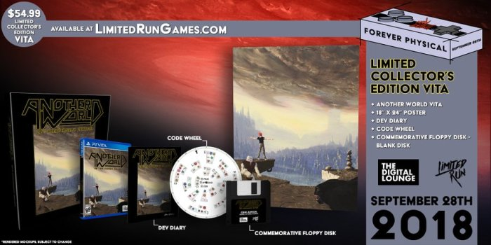 Another World Limited Run PS Vita Classic Edition