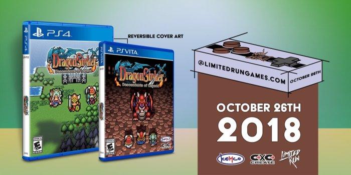 Dragon Sinker Limited Run PS Vita