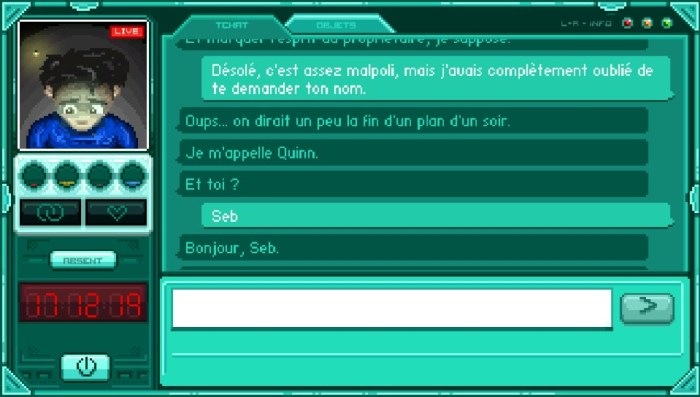 Test de Stay sur PS Vita & PS4