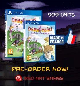 Demetrios - Edition physique limitée sur PS Vita & PS4