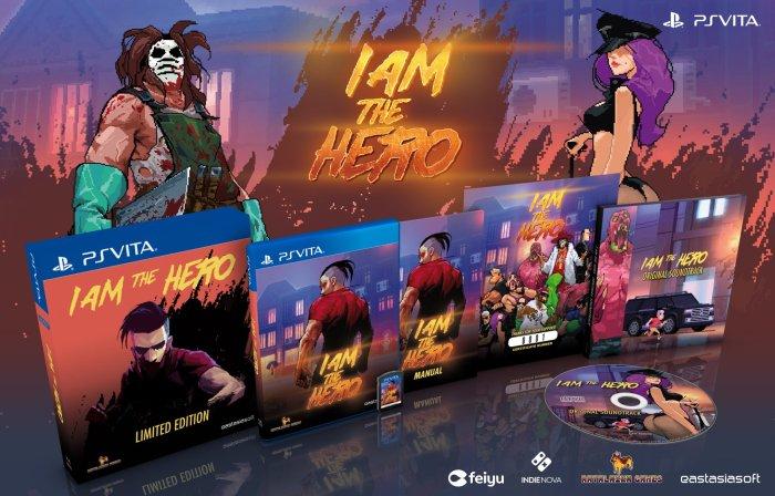 I Am The Hero édition phydique limitée PS Vita