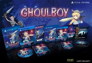 Ghoulboy édition physique limitée PS Vita