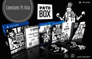Concours Pato Box PS Vita en édition physique limitée