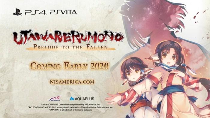 Utawarerumono Prelude to the Fallen PS Vita