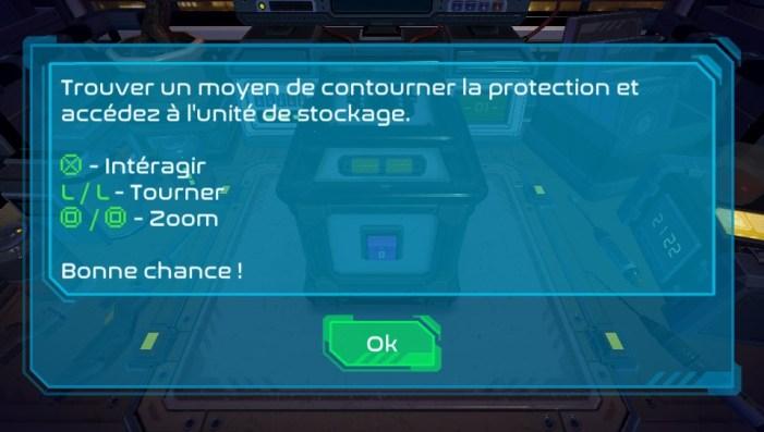 Access Denied PS Vita test & avis
