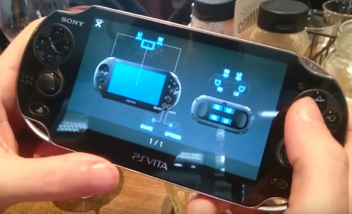 Assignation des touches en Remote Play sur PS Vita