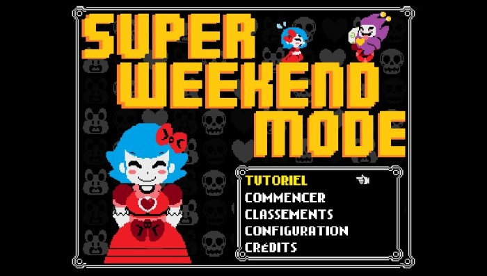 Super Weekend Mode test & avis PS Vita PS4