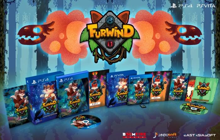 Furwind édition physique limitée PS Vita & PS4