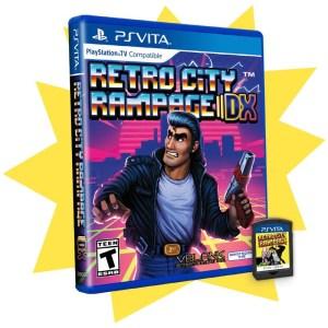Retro City Rampage DX PS Vita seconde édition limitée