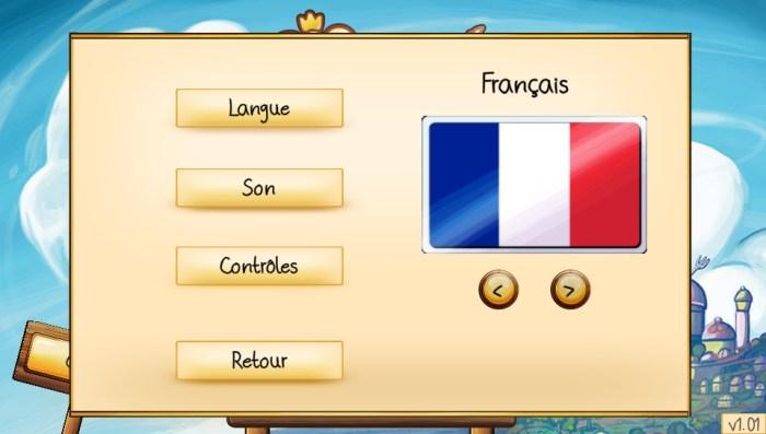 Sir Eatsalot mise à jour français PS Vita