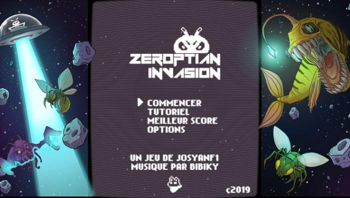 zeroptian invasion menu